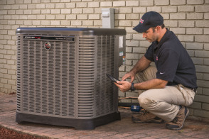What we do, working on Air Conditioners, Heat Pumps, Air conditioning, hvac, furnaces