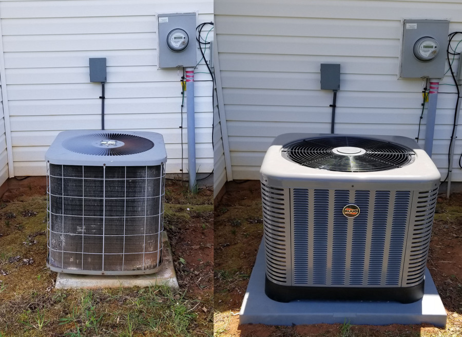 Replacing Gas Furnaces Heat Pumps Air Conditioners Air